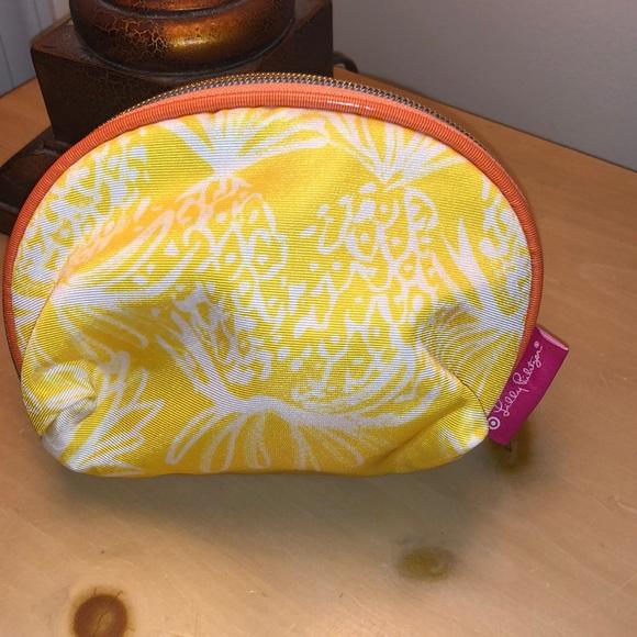 Lilly Pulitzer x Target Pineapple makeup bag